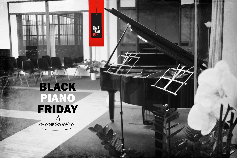 Black Friday anche ad Ariadimusica!